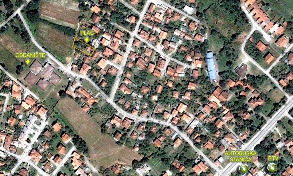vrnjacka banja mapa grada PLAC I KUĆA VRNJAČKA BANJA vrnjacka banja mapa grada